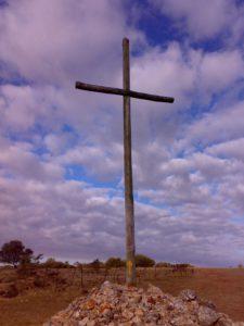 Aufwärts im Kreuz