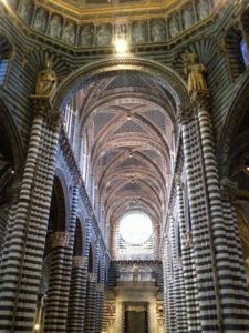 Dom Siena Gewölbe