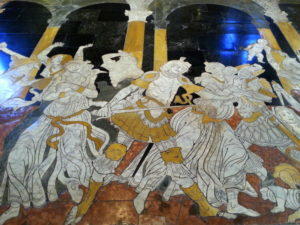 Dom Siena Bodenrelief